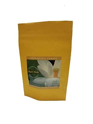 YOGIS HERBS Venthamarai Powder (White Lotus/Nelumbo nucifera) – Fresh & Pure 100g