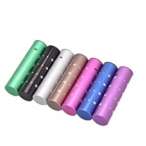 2600mAh Starry Sky Pattern Power Bank Portable Charger --- Color:Purple