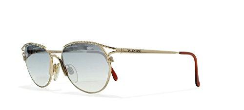Valentino V432 903 Gold Vintage Sunglasses CatEye For - Vintage Sunglasses Valentino