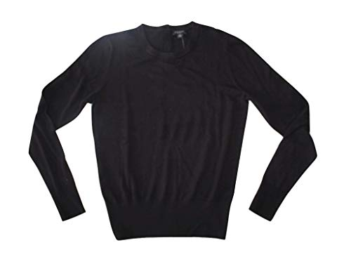 Ann Taylor Factory Women's Button Back Sweater (Medium) Black 479406 from Ann Taylor Factory