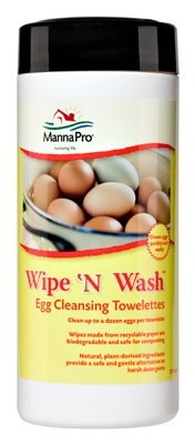 Wipe N Wash Towelettes by Manna Pro Corp