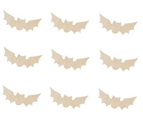 Halloween Cut Out Projects - Halloween Wooden Bat Cutouts 5.2