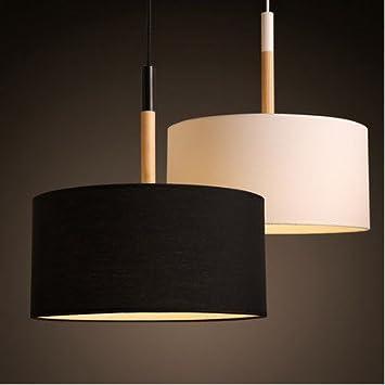 Schön US Amerikanischer Country Stoff Pendelleuchte Lampe Schlafzimmer Solide  Holz Wohnzimmer Studie Café Bar Restaurant Stoff