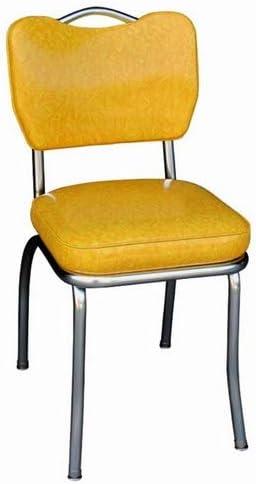 Richardson Seating Handle Back Chrome Diner Chair