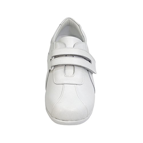 24 Hour Comfort  Bonnie (1062) Women Extra Wide Width Walking Shoes White 8.5 by 24 Hour Comfort (Image #2)