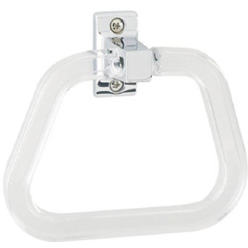 Best Value  D8517 Centura Bathroom Towel Ring, Polished Chrome (Towel Ring Plastic)
