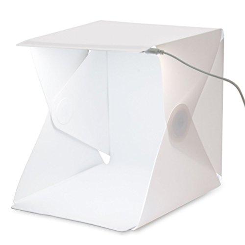 USB Mini Foldable LED Light (White) - 4