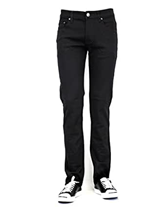 URBAN ICON MEN'S SKINNY JEANS WITH COMFORT STRETCH, 28X30, BLACK