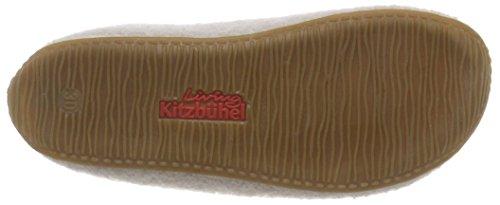 feather 619 Kitzbühel Grau Fille Grey Living Applikation Pantoufles Pantoffel 87qwn8zT1