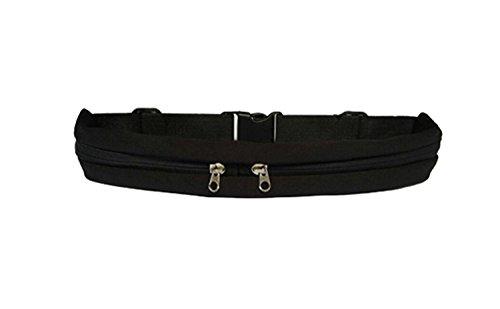 UTours Sport Belt Running Belt Waist Pack, Dual Pocket Sport