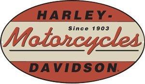 Harley-Davidson® 1903 Oval Metal Sign - Sign Tin Oval
