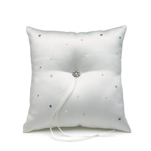 Weddingstar Scattered Pearls and Crystals Square R…