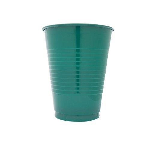 Hunter Green Plastic Cups 16oz Solid 240ct
