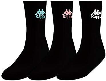 Unisex Adulto Kappa Ailel Auth Socks X3 Calcetines