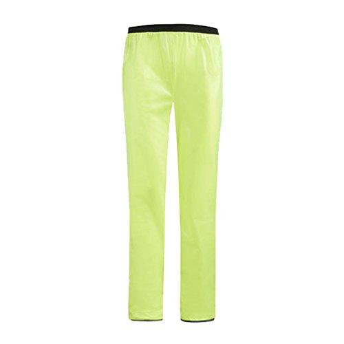 Giubbotto Giacchetto WanYang Pantaloni Pantalone Antiacqua Giacca Antipioggia Verde Antipioggia Chiaro Bici Impermeabile ORxxIwd