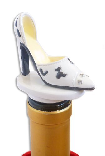 Bella Vita ABS White Heels Bottle Stopper