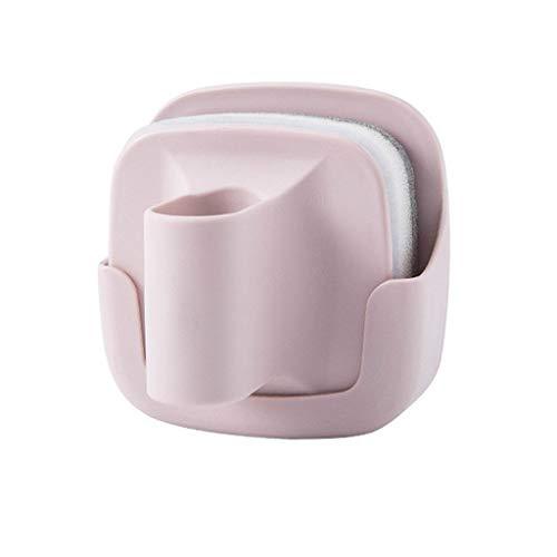 DealinM ?? Kitchen Wall-mounted with handle pot Brush Sponge Dishwashing brush pot brush