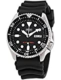 Best Dive Watches - Seiko Divers Black Dial Rubber Strap Men's Watch Review