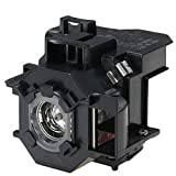 Replacement For EPSON POWERLITE 82 LAMP & HOUSING Projector TV Lamp Bulb