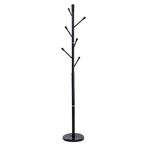 Classic Style Metal Coat Rack Hat Tree Stand Clothes Holder Umbrella Bag Hanger Hall Black New - Christmas Clipart Chalkboard