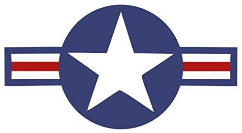Roundel Star Sticker US Air Force USAF Insignia Car Decal 6