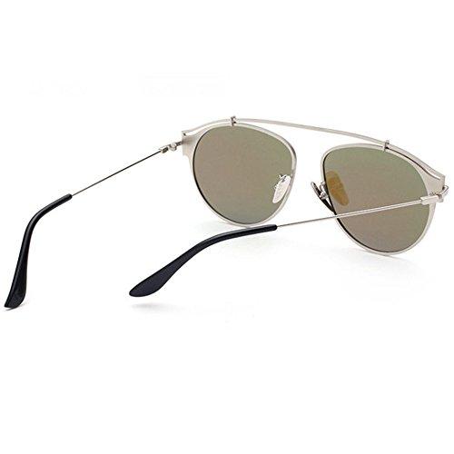 Aoligei Lunettes de mode lumière colorée film soleil Chao hommes et plat lunettes de soleil femmes 6mq3eXdaYn
