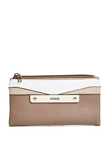 GUESS Factory Women's Campton Fold over Color-Block Wallet ()