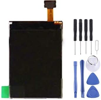 Color : Color1 XIAOMIN LCD Screen for Nokia 6300// 6210C// 8600//3600// 5320// 6121c// 6301//6350 Replacement