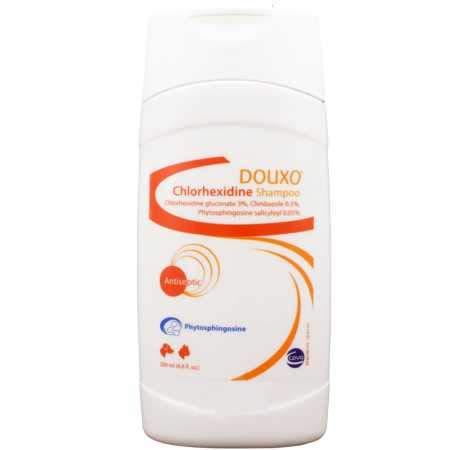 Douxo Chlorhexidine PS + Climbazole Shampoo 200 ml (6.8 oz) by Douxo