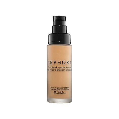 10 Hr Wear Perfection Foundation Sephora 0.84 Oz Medium Peach (Y) | NEW