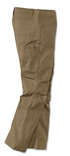 Orvis Men's Outdoor Stretch Field Pants, Khaki, 38, Inseam: 32 Inch by Orvis (Image #1)