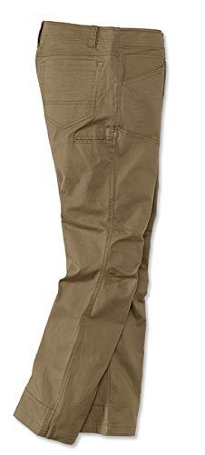Orvis Men's Outdoor Stretch Field Pants, Khaki, 38, Inseam: 32 Inch