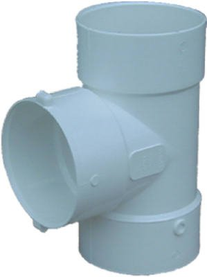 (Genova Products 41430 Sewer Drain Styrene Bull Nose Tee, 3-In. - Quantity 10)