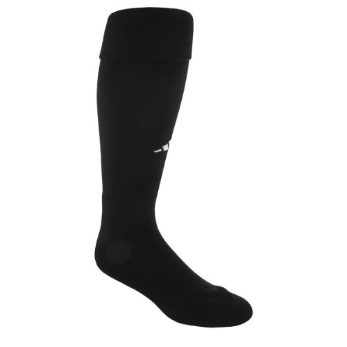 adidas Youth Field Sock II Soccer Sock , Black/White , X-Small