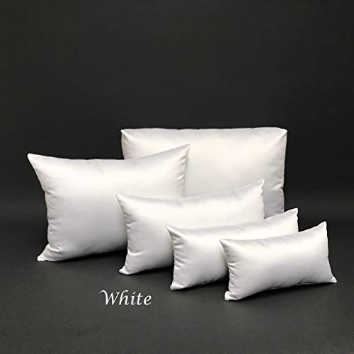 PURSE PILLOW Starter Sets: FREE SHIPPING, Satin White Comes in 4,5 and 9 Piece & 8 Colors 501