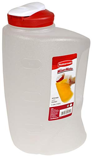 Rubbermaid 7E60 1-Gallon Pitcher (Red) ()