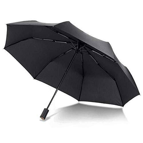 Conor Compact Travel Umbrella with Teflon Coating Auto Open/Close Button for Women Student, Folding Umbrella