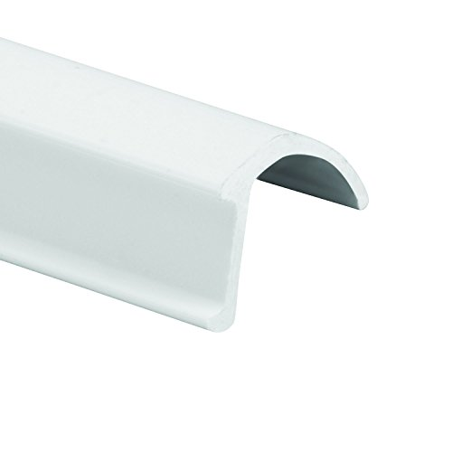 (Prime-Line Products MP7861 Glass Retainer Strips, 9/32 in. x 1/2 in. x 72 in, Rigid Vinyl, White in Color, Snap-in Glazing, Pack of 25)