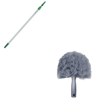 KITUNGCOBW0UNGEZ250 - Value Kit - Unger StarDuster CobWeb Duster (UNGCOBW0) and Unger Opti-Loc Aluminum Extension Pole (UNGEZ250)