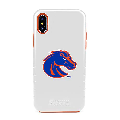 (Guard Dog Boise State Broncos Hybrid Case for iPhone X/Xs - White )