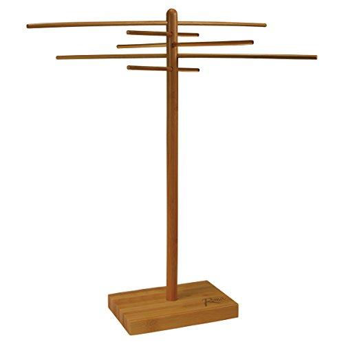 Weston Bamboo Pasta Drying Rack (53-0201), 10 Drying Arms, 16