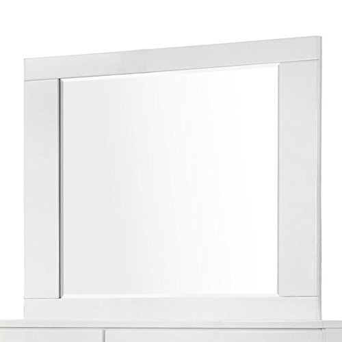 Coaster 203504 Home Furnishings Mirror, Glossy (Bureau Mirror)