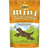 Zuke's Mini Naturals Peanut Butter Flavor 6 oz Pouch, My Pet Supplies