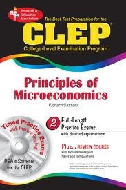 The Best Test P CLEP Principles of Microeconomics with TestWare CD (REA) (CLEP Test Preparation)