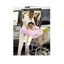 Floppy Seat Ez Carry Shopping Cart and High Chair Cover, Pink Floral
