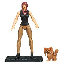 Marvel Universe 3 3/4 Inch Series 2 Action Figure Mary Jane (Man Jane Spider Mary)