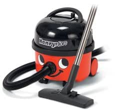 """Numatic Top-Seller Hi-Power Canister Vacuum Cleaner, HVR200M-22, """"Henry Micro"""", with Accessory Tool Kit (Color: Red) - featuring the exclusive MICROTEX FILTRATION SYSTEM, approved to the highest standards for those suffering from ALLERGIES"""