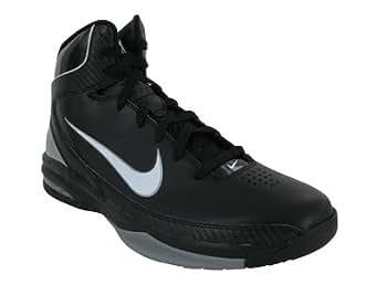 Nike Mens Basketball Shoes AIR MAX HYPED TB Black/White/Metallic Silver SZ 10.5
