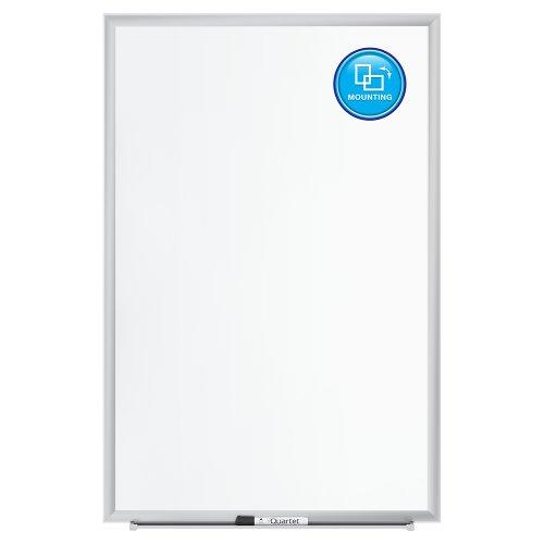 034138254301 - Quartet Magnetic Whiteboard, Premium Dry Erase Board, Duramax, 2 x 3 Feet, Silver Aluminum Frame (2543) carousel main 4