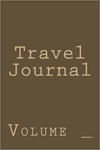 Brown and Tan Cover Travel Journal